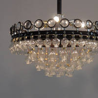 Paul Horn, Luster 1 (chandellier 1), mixed media object, diam. 67 cm, 110cm (l)