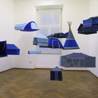 Oto Hudec, Nomadia Travelling Museum, 2012-14, installation, variable dimensions, courtesy: Gandy Gallery Bratislava